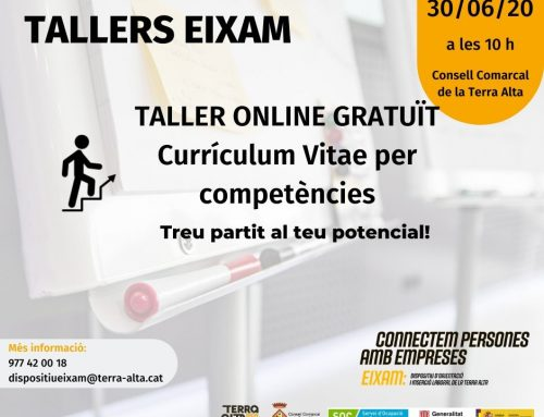 [TALLER] Currículum Vitae per competències