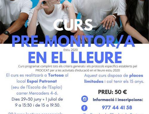 [CURS] Pre-monitor/a de lleure