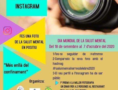 """[PARTICIPACIÓ] 2n concurs d'Instagram """"Fes una foto de la Salut Mental"""""""