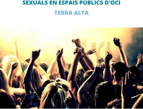 [IGUALTAT] La Terra Alta aprova un Protocol d'abordatge de les violències sexuals en els espais públics d'oci