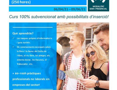 [CURS] Informador/a i guia turístic