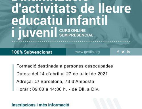 [CURS] Dinamització d'activitats de lleure educatiu infantil i juvenil
